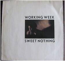 Working Week, Sweet Nothing, G/VG, Maxi Single  EP (6502)