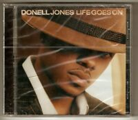 Donell Jones - Life Goes On . Arista CD SEALED !!!