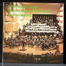 Musique municipale de Strasbourg 130e anniversaire 30/11/75 Philippe Acker LP M