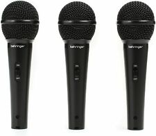 Behringer XM1800S (3-pk Dynamic Microphone)