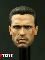 1:6 JOPTOYS NO:T07 Arnold Schwarzenegger Battle Damaged Head Sculpt