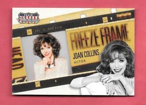 2015 Joan Collins Panini Americana Freeze Frame Insert - Actor - Dynasty