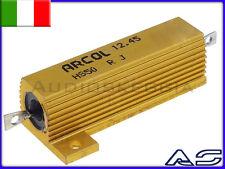 Resistenza 56 Ohm 50W Corazzata di potenza carico amplificatori cuffia