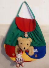 DIE SPIEGELBURG Teddyrucksack Mini Teddy Rucksack Kinder Kids Tasche Bär Wow NEU