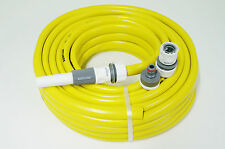 """Gartenschlauch 3/4"""" 25m gelb + Zubehör Wasserschlauch Schlauch Qualitätsschlauch"""