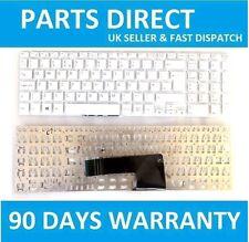 NEW SONY VAIO SVF152C29M Laptop Keyboard New White UK English QWERTY Layout