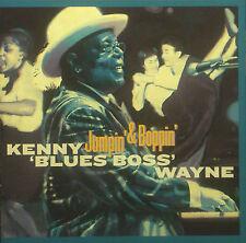 CD KENNY 'BLUES BOSS' WAYNE - jumpin' & boppin'