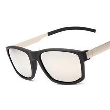 Hombre UV400 Gafas De Sol Polarizadas Metal Pierna Exterior Tono Nuevo