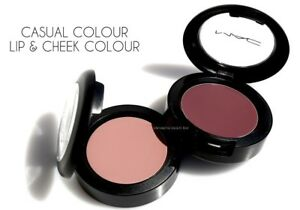 Mac Casual Colour Lip & Cheek Colour *Choose Your Shade* Full size New in Box