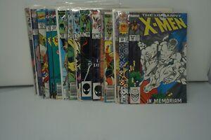MARVEL COMICS (51) LOT OF 15 THE UNCANNY X-MEN COMICS