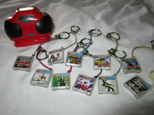 Tiger 2000 HIT CLIPS Boombox Player with clips in pic TESTED
