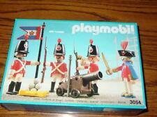 Vintage PLAYMOBIL : PIRATES SERIES #3054 (1990) - HARBOUR GUARD Redcoat (SEALED)