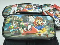 Super Mario Odyssey Deluxe Travel Case For Nintendo Switch & Lite