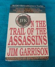 On The Trail of The Assassins Jim Garrison Audio Book 1991 Brand New Sealed