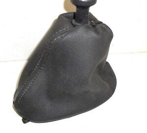 CUFFIA CAMBIO RENAULT CLIO II ° serie 1998 - 2005 realizzata in vera pelle nera