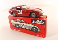 Solido n° 148 Alfa Romeo Giulia TZ #82 critérium Cévennes en boite 1/43 ancienne
