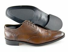 R - Men's TO BOOT NEW YORK 'Wesley' Brown Wingtip Leather Oxfords Size US 12 - D