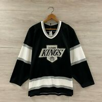Vintage Luc Robitaille Los Angeles Kings CCM Maska NHL Hockey Jersey Size Medium