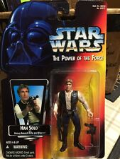 Kenner Star Wars Power Of The Force Red Card Han Solo Action Figure - Fine/NM