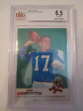 1969 DON MEREDITH #75 TOPPS BVG GRADED 6.5 EX-MT - BOX CC
