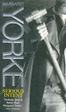 Serious Intent by Margaret Yorke (Paperback, 1996)