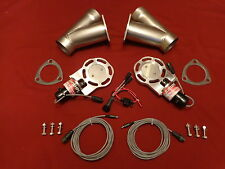 "Electric Exhaust Cutout BadlanzHPE Cutouts 2.5"" 63mm SS  5 YEAR WARRANTY!"