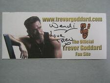 "TREVOR GODDARD(Died in 2003)""Jag/Mortal Kombat""  Signed  3 x 7 Color  Photo/Card"