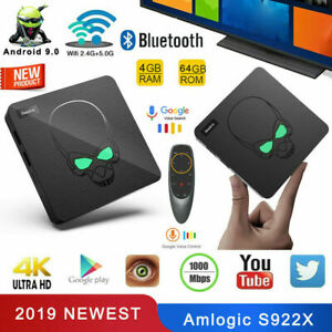 Beelink GT-King Hexa Core S922X 4G DDR4 64G Android 9.0 TV Box 2.4G Voice Remote