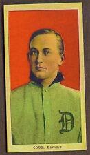1909 T206 Ty Cobb Red Portrait Cigarette Baseball Card Reprint Birthday Gift