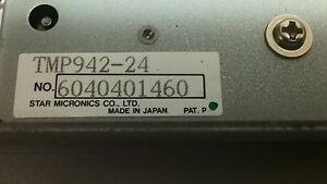 Star Micronics TUP900 TMP942-24  PR921-24 Thermal Receipt Printer