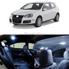 14 x Ultra White LED Interior Light For 2006 - 2009 Volkswagen VW Golf GTi Mk5