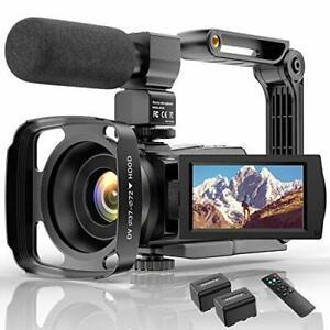 Videokamera 4K WiFi Full Hd Video Camcorder YouTube Vlogging Digitalkamera