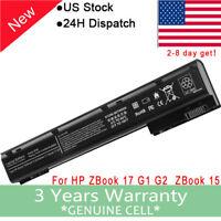 NEW For HP ZBOOK 15 ZBOOK 17 BATTERY AR08XL E7U26UT 708455-001 14.4V 65Wh