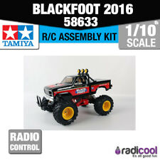 New! 58633 TAMIYA BLACKFOOT MONSTER TRUCK 2WD R/C KIT RADIO CONTROL 1/10th SCALE