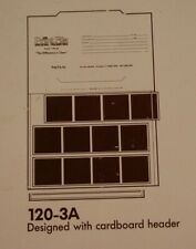 Print File 25 Sheets of 120-3A for 120 Film Type Stripes - New Old Stock