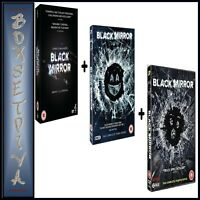 BLACK MIRROR COMPLETE SEASONS 1 2 3 4 PLUS SPECIAL COLLECTION*BRAND NEW DVD ***
