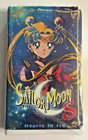 Sailor Moon The Movie Hearts in Ice (2000,VHS) Pioneer Entertainment