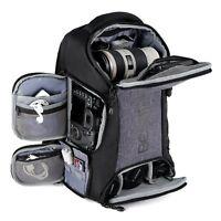 Kamerarucksack Fotorucksack mit Laptopfach Wasserdicht für DSLR Kamera und Zubeh