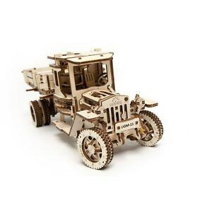 3D Mechanical Truck UGM-11 (Puzzle, wooden construction kit, 7+ Boys & Girls)