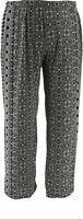 Attitudes by Renee Regular Como Jersey Wide Leg Pants Black Size Large L