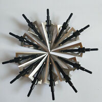 "Hunting Knife Broadheads 1.19"" Cut 125 Grain Crossbow Compound Bow Arrowheads"