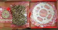 GENUINE HONDA PART (NOT A CHINESE COPY) CG 125 CHAIN & SPROCKET SET / KIT CG125