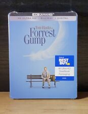 Forrest Gump 4K Uhd, Blu-Ray, Digital - 25th Anniversery Best Buy Steelbook New