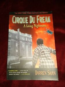 Cirque du Freak : A Living Nightmare by Darren Shan   (VERY GOOD)