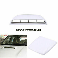 Car Auto Roof Air Flow Intake Hood Scoop Vent Decorative Bonnet Cover Universal