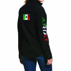 Ariat® Children's New Team Softshell Mexico Black Jacket 10036550