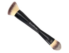 Eve Pearl Brush #201 MicroSilk Dual Double Ended Contour Blender Brush NEW $54