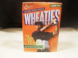 Wheaties Cereal Box ~ Tiger Woods ~ Inaugural Box ~ Full (#3)