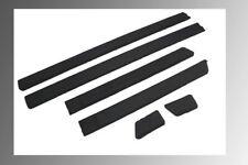 Door Side Black Molding Trim Set Textured Black For VW Golf Jetta MK2 GTI 4 Door