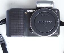 Sony Alpha NEX-3 14.2MP (Body Only) Silver Digital Camera 97K Shutter count